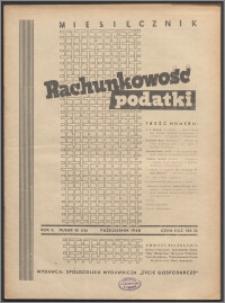 Rachunkowość - Podatki 1948, R. 2 nr 10 (16)