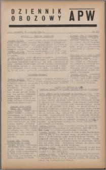 Dziennik Obozowy APW 1944.08.10 nr 159