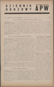Dziennik Obozowy APW 1944.08.24 nr 170