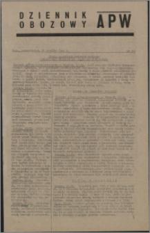 Dziennik Obozowy APW 1944.09.18 nr 191