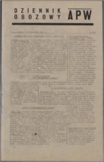 Dziennik Obozowy APW 1944.10.07 nr 208