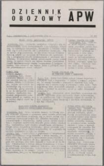 Dziennik Obozowy APW 1944.10.09 nr 209