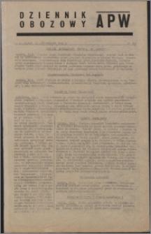 Dziennik Obozowy APW 1944.10.13-14 nr 213-214
