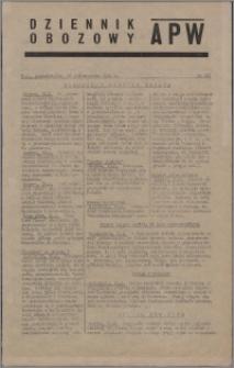 Dziennik Obozowy APW 1944.10.16 nr 215