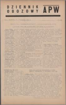 Dziennik Obozowy APW 1944.10.19 nr 218