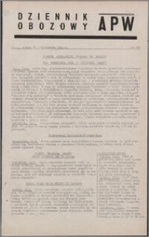 Dziennik Obozowy APW 1944.10.20 nr 219