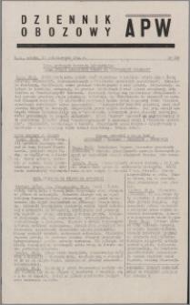 Dziennik Obozowy APW 1944.10.21 nr 220