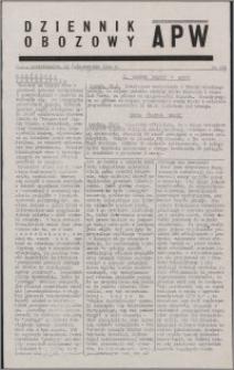 Dziennik Obozowy APW 1944.10.23 nr 221