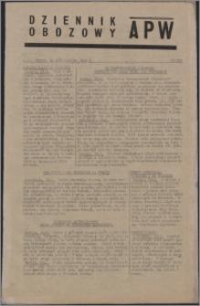 Dziennik Obozowy APW 1944.10.24 nr 222