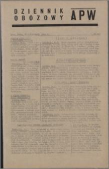 Dziennik Obozowy APW 1944.10.25 nr 223
