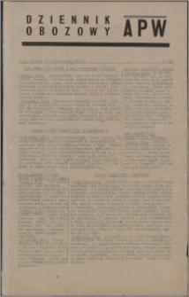 Dziennik Obozowy APW 1944.10.27 nr 225