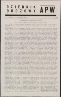 Dziennik Obozowy APW 1944.10.28 nr 226