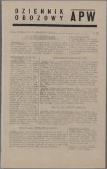Dziennik Obozowy APW 1944.10.30 nr 227