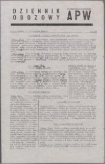 Dziennik Obozowy APW 1944.10.31 nr 228