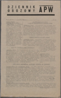 Dziennik Obozowy APW 1944.11.17 nr 241