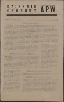Dziennik Obozowy APW 1944.12.27 nr 273