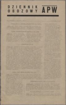 Dziennik Obozowy APW 1945.01.04, R. 2 nr 3