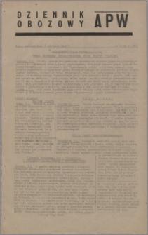 Dziennik Obozowy APW 1945.01.08, R. 2 nr 5