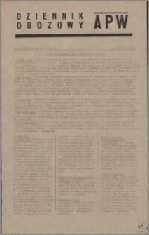 Dziennik Obozowy APW 1945.01.16, R. 2 nr 11