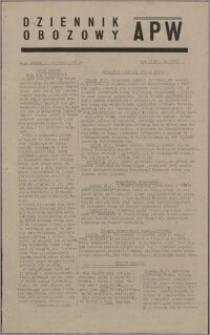 Dziennik Obozowy APW 1945.01.19, R. 2 nr 14