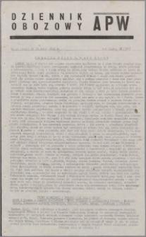 Dziennik Obozowy APW 1945.01.20, R. 2 nr 15