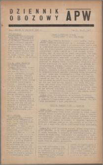 Dziennik Obozowy APW 1945.01.27, R. 2 nr 21