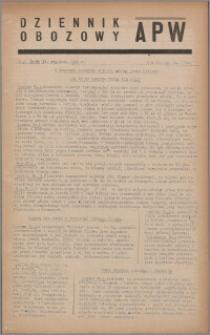Dziennik Obozowy APW 1945.01.31, R. 2 nr 24