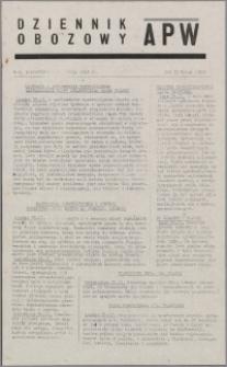 Dziennik Obozowy APW 1945.02.26, R. 2 nr 46