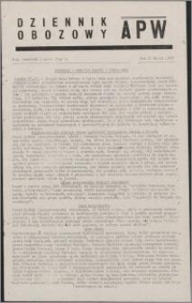 Dziennik Obozowy APW 1945.03.01, R. 2 nr 49
