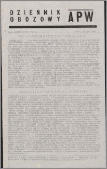 Dziennik Obozowy APW 1945.03.02, R. 2 nr 50