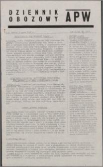 Dziennik Obozowy APW 1945.03.03, R. 2 nr 51