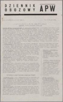 Dziennik Obozowy APW 1945.03.05, R. 2 nr 52
