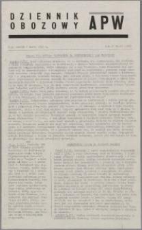 Dziennik Obozowy APW 1945.03.06, R. 2 nr 53