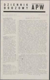 Dziennik Obozowy APW 1945.03.10, R. 2 nr 57