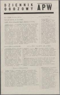 Dziennik Obozowy APW 1945.03.13, R. 2 nr 59