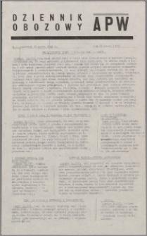 Dziennik Obozowy APW 1945.03.15, R. 2 nr 61