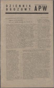 Dziennik Obozowy APW 1945.03.19, R. 2 nr 64