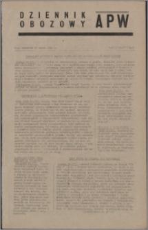 Dziennik Obozowy APW 1945.03.22, R. 2 nr 67
