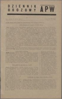 Dziennik Obozowy APW 1945.03.23, R. 2 nr 68