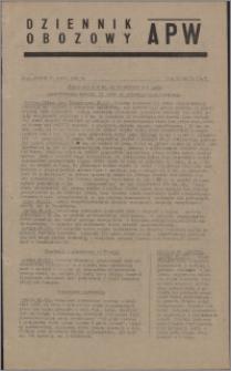 Dziennik Obozowy APW 1945.03.27, R. 2 nr 71