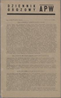Dziennik Obozowy APW 1945.03.28, R. 2 nr 72
