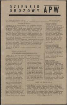 Dziennik Obozowy APW 1945.04.21, R. 2 nr 91