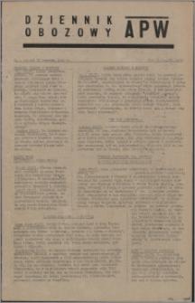 Dziennik Obozowy APW 1945.06.22, R. 2 nr 125