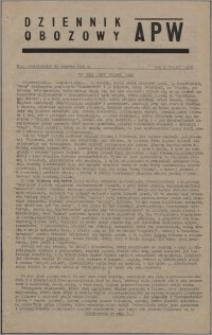 Dziennik Obozowy APW 1945.06.25, R. 2 nr 127