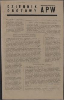 Dziennik Obozowy APW 1945.07.20, R. 2 nr 148