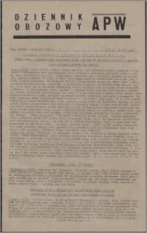 Dziennik Obozowy APW 1945.08.07, R. 2 nr 163