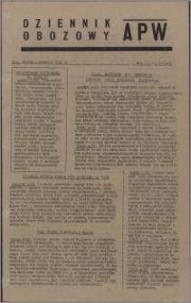 Dziennik Obozowy APW 1945.09.04, R. 2 nr 186