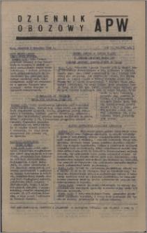Dziennik Obozowy APW 1945.09.06, R. 2 nr 188