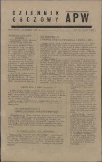 Dziennik Obozowy APW 1945.09.11, R. 2 nr 192