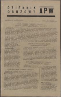 Dziennik Obozowy APW 1945.09.12, R. 2 nr 193